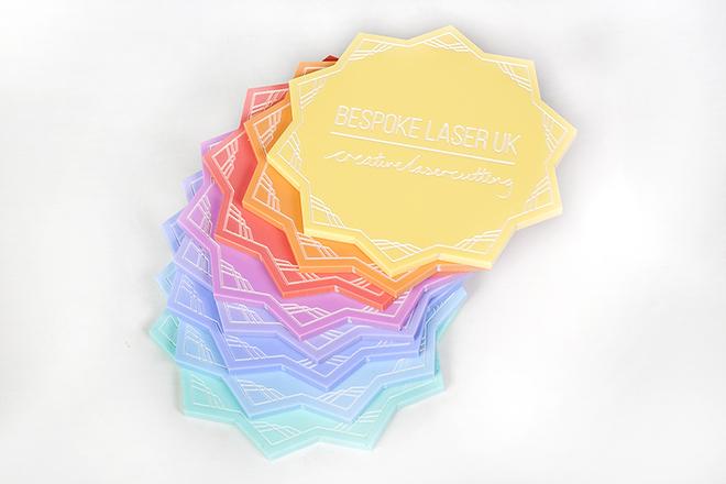 pastel acrylic colours