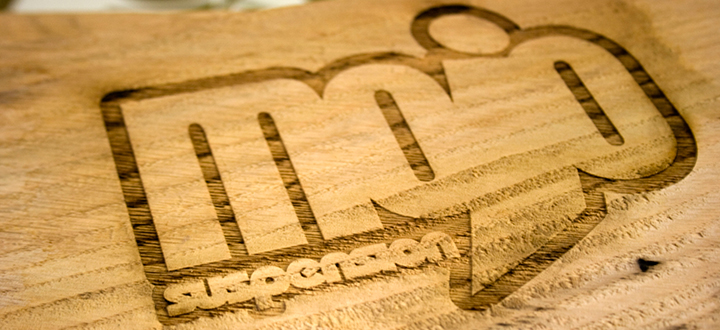 Bespoke Laser UK Wales Blog Wooden Exhibition Signage Mojo Suspension Thumbnail