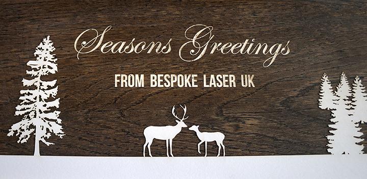 Bespoke Laser - Seasons Greetings