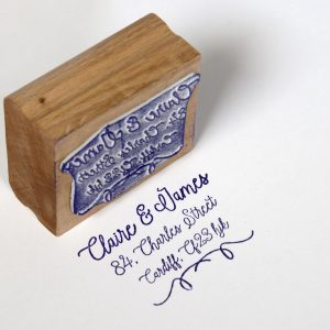 Custom Address Rubber Stamp