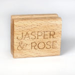 Small rubber stamp