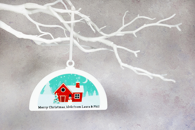 Printed Christmas Decoration