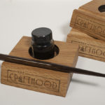 calligraphy stand