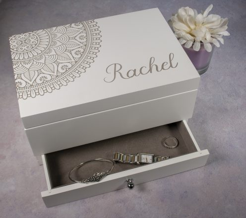 Personalised Jewellery Box Large
