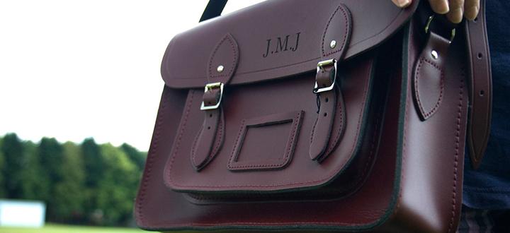 Bespoke Laser UK Wales Blog Engraved Cambridge Satchel Leather Engraving Main Thumbnail