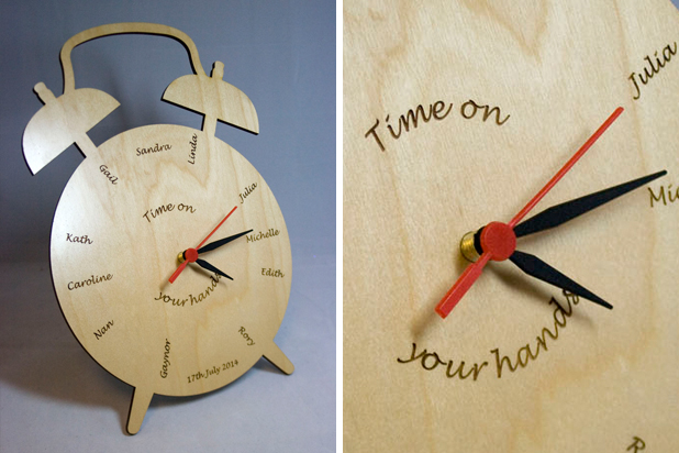 Bespoke Laser UK Wales Blog Laser Cutting a Clock Inside 1