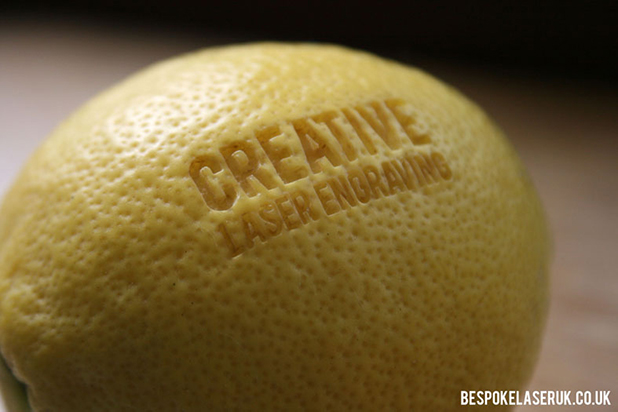 Bespoke Laser UK Wales Blog Laser Cutting a Lemon Inside 1