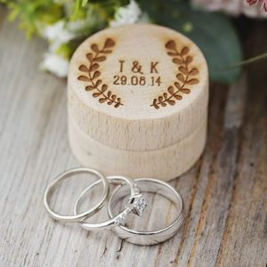 UK Wales Cwmbran Laser Cutting Engraving Etching Wedding Ring Boxes