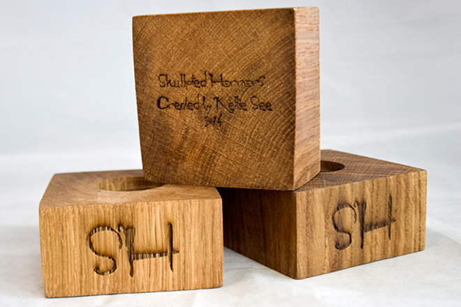 Bespoke Laser UK Wales Wood Engraved Wooden Model Standds