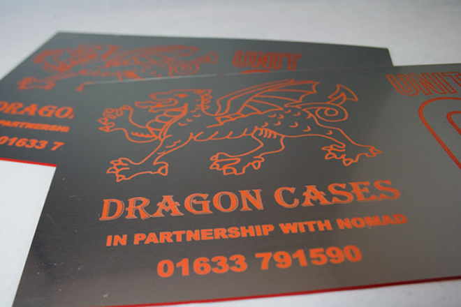 Bespoke Laser UK Wales Products Signage 3
