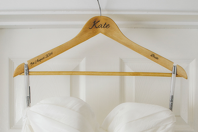 Bespoke Laser UK Wales Weddings Personalised Wooden Hangers 1