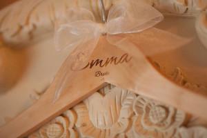 Bespoke Laser UK Wales Weddings Personalised Wooden Hangers 2
