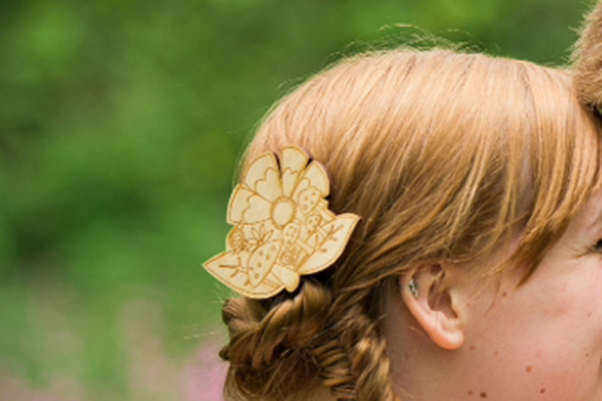 Bespoke Laser UK Wales Weddings Hair Accessories 2