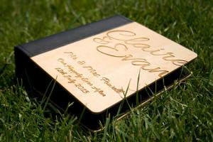 Bespoke Laser UK Wales Weddings Personalised Photo Album