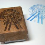 Bespoke Laser UK Wales Weddings Personalised Stamps 2