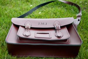 Bespoke Laser UK Wales Engraving Leather 1