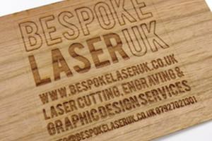 Bespoke Laser UK Wales Etching Veneer
